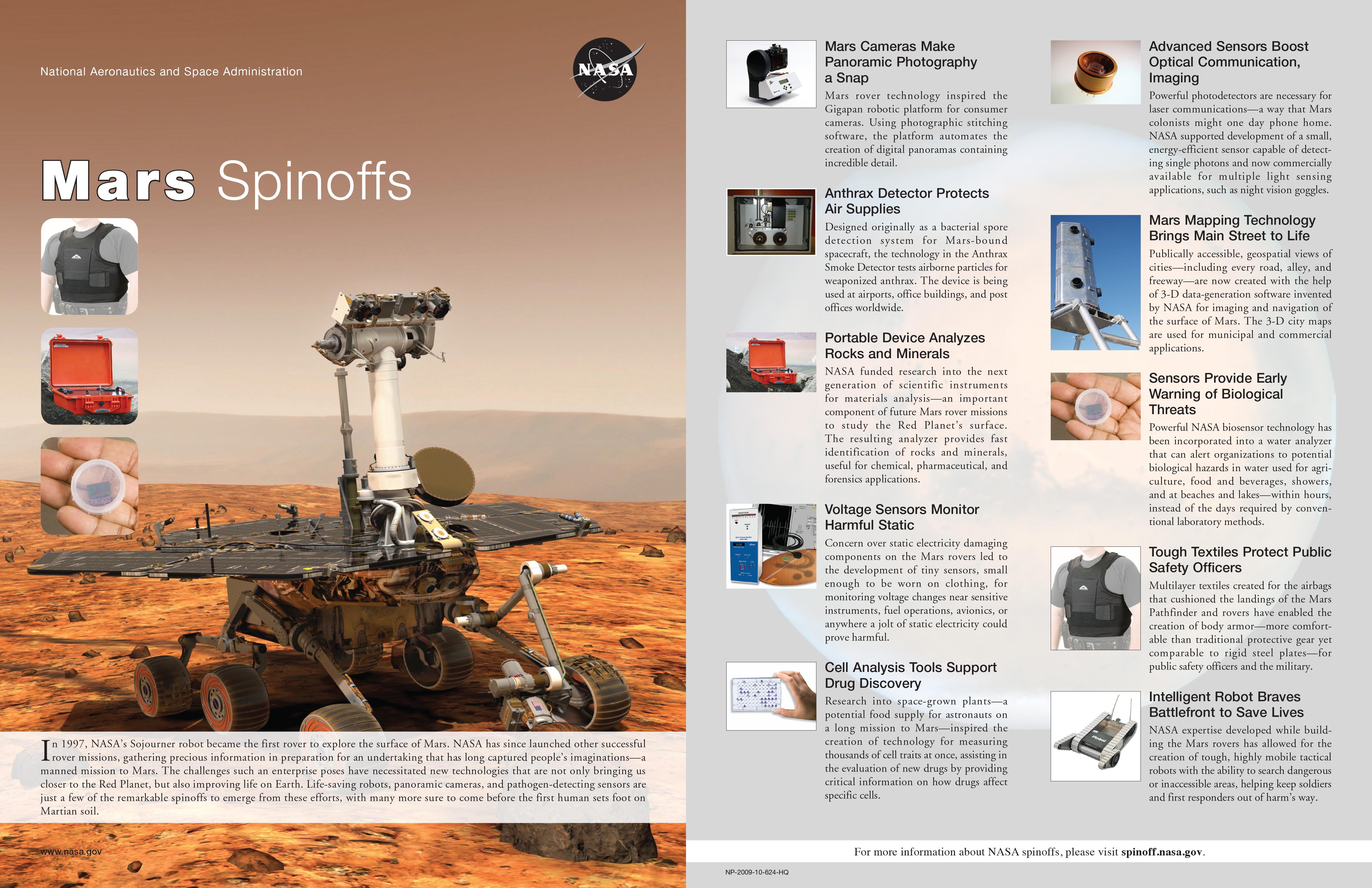 Mars Spinoffs NASA