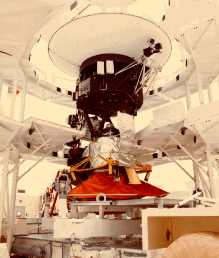 Voyager In SAEF II At Kennedy Space Center. Credit: NASA