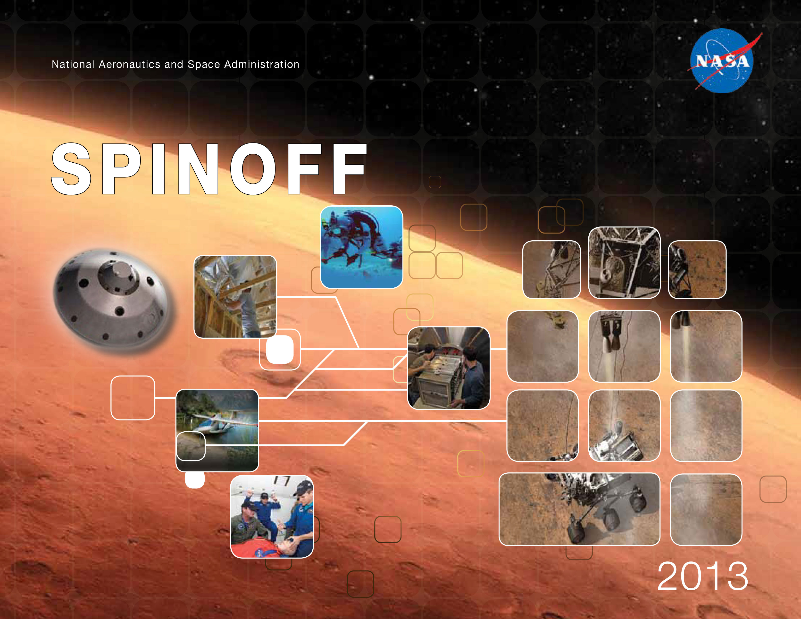 NASA-developed space technologies benefit those of us here on Earth. Credit: NASA
