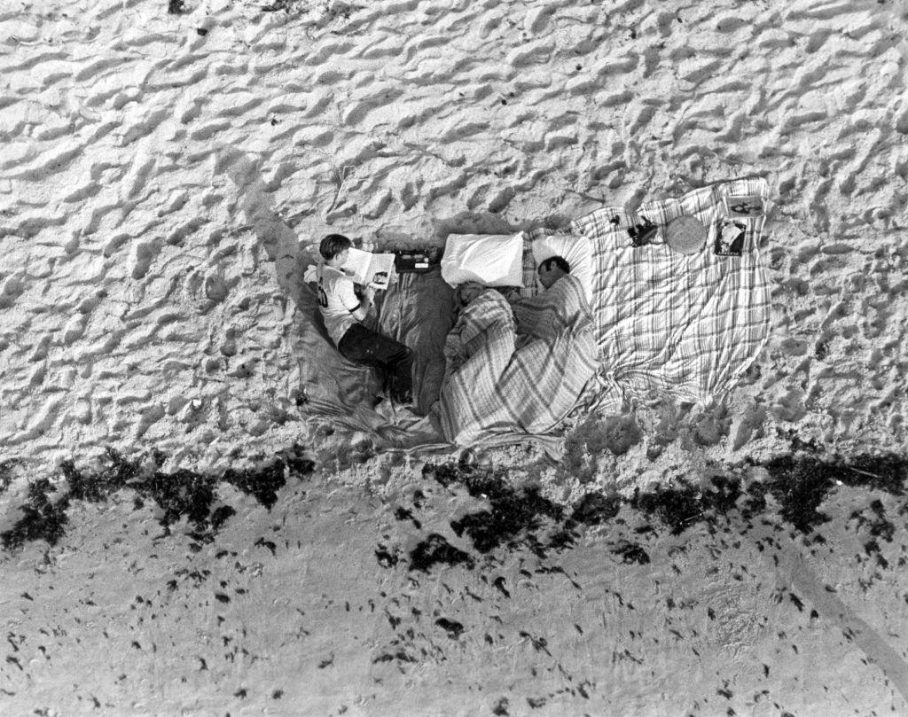It was estimated that one million people were present on the Space Coast to see the launch of Apollo 11, with some families even sleeping on nearby beaches the night before the launch.