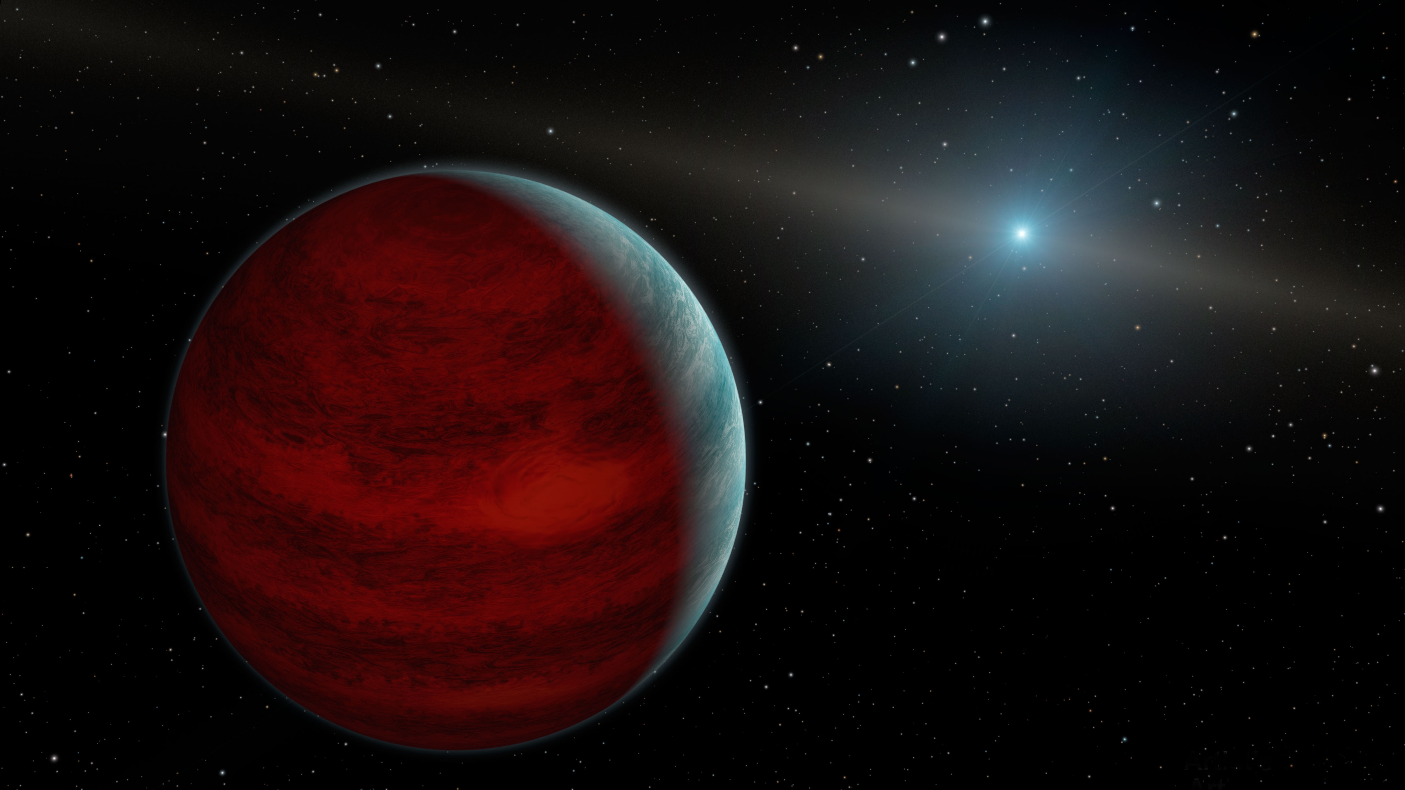 Artist's concept or a rejuvenated planet. Credit: NASA/JPL-Caltech