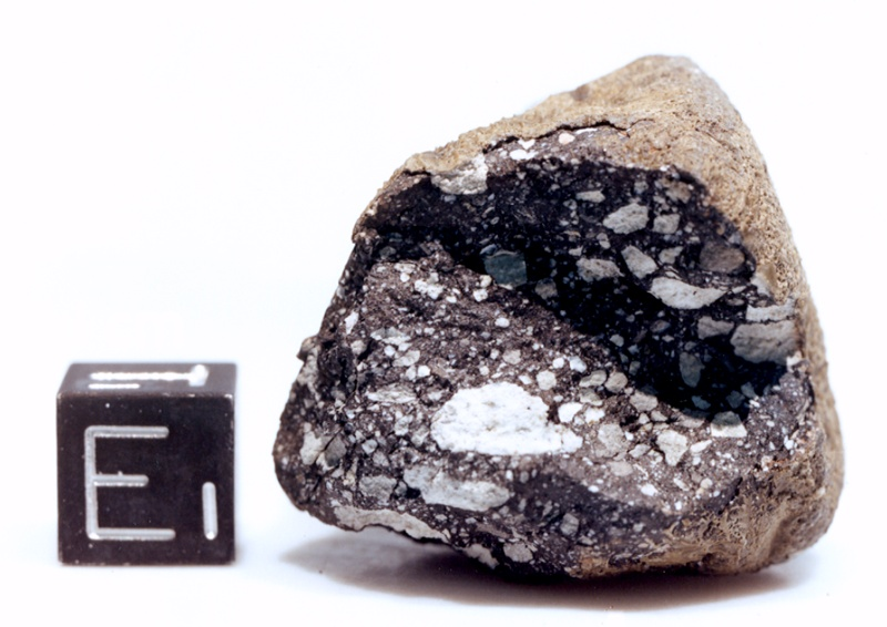 lunar meteorite close-up image