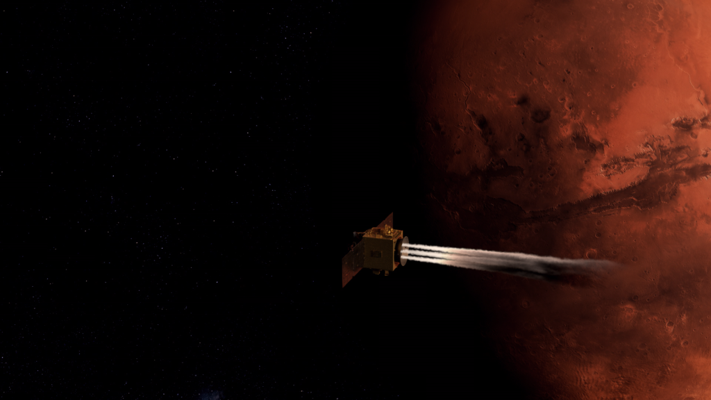 UAE and China place missions into Mars orbit mere hours apart - RocketSTEM